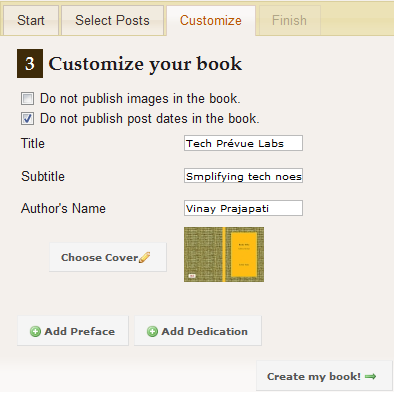 Pothi - Blog2Book - User Guide - Snap 3
