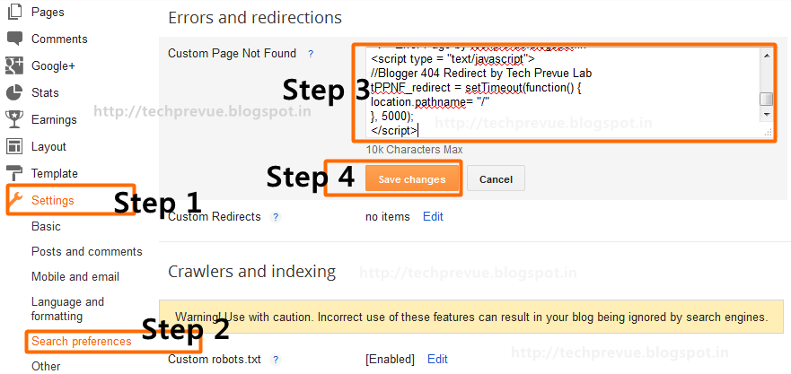 Auto redirect to home page when 404 error occurs