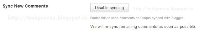 DISQUS Re-sync remaining comments asap