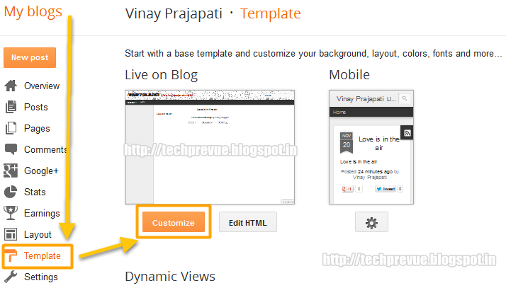 Prevent Post Copy in Blogger Dynamic Views