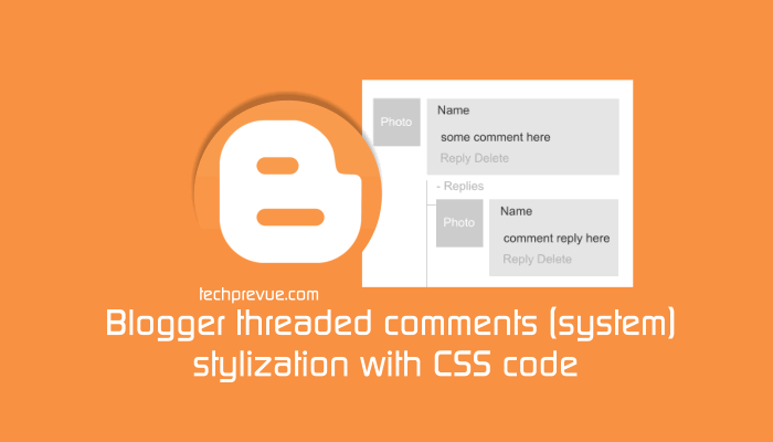 CSS styling - Blogger threaded comments