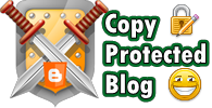 Copy Protected Blog Logo