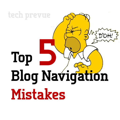 Top Blog Navigation Mistakes
