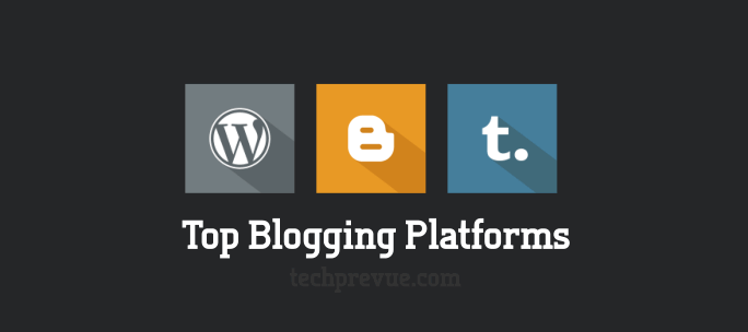 Most popular blog services