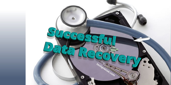 Successful Data Recovery First Aid
