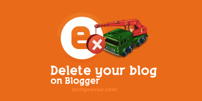 Delete your blog
