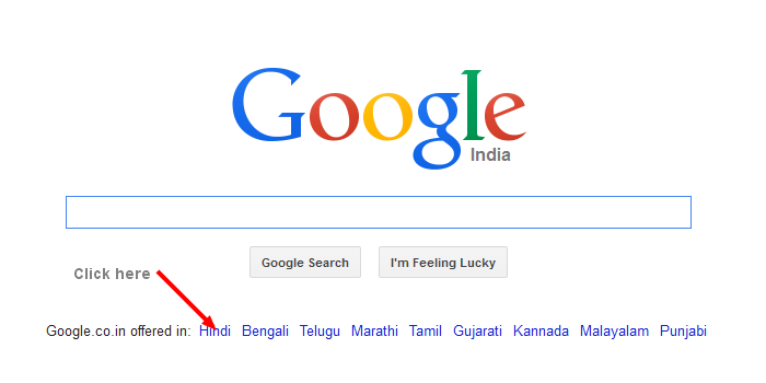 Google Search Hindi Results