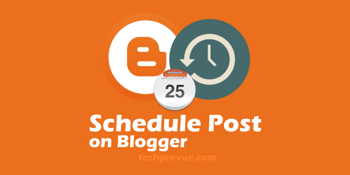 Schedule blog post at right