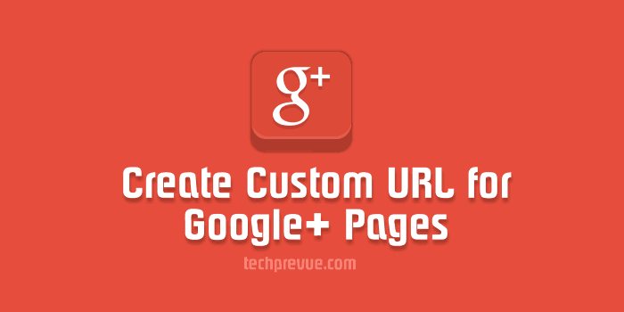 Custom URL for Google+ Pages