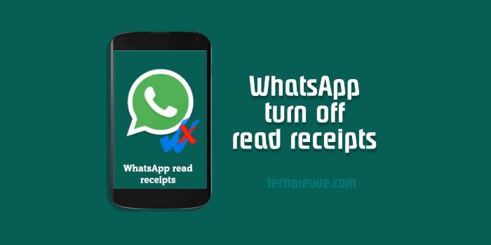 WhatsApp blue tick disable