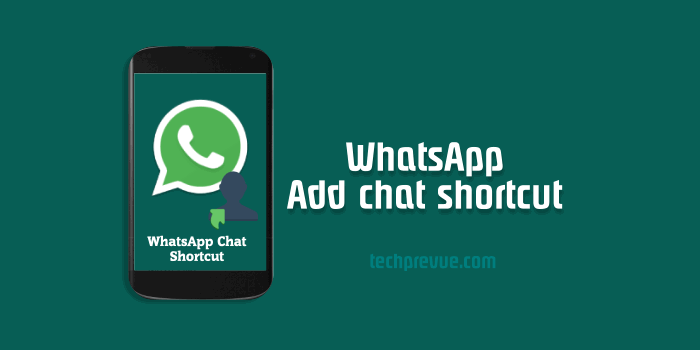 WhatsApp Chat Shortcut