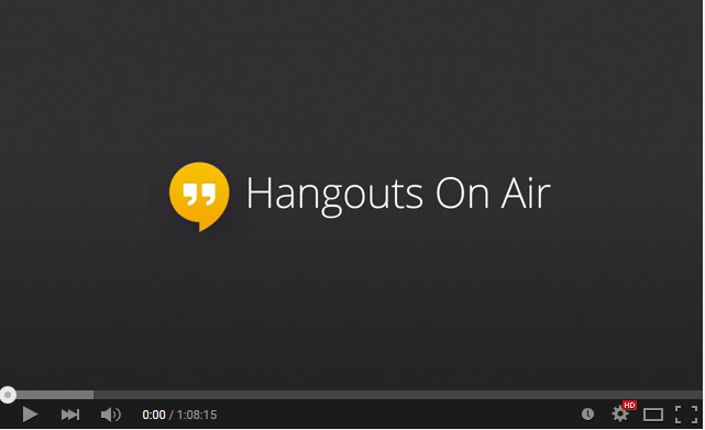 Hangout On Air for Hindi Blogging