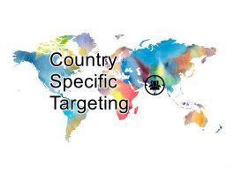 इंटरनेशनल टारगेटिंग या कंट्री स्पेसिफ़िक ट्रैफ़िक