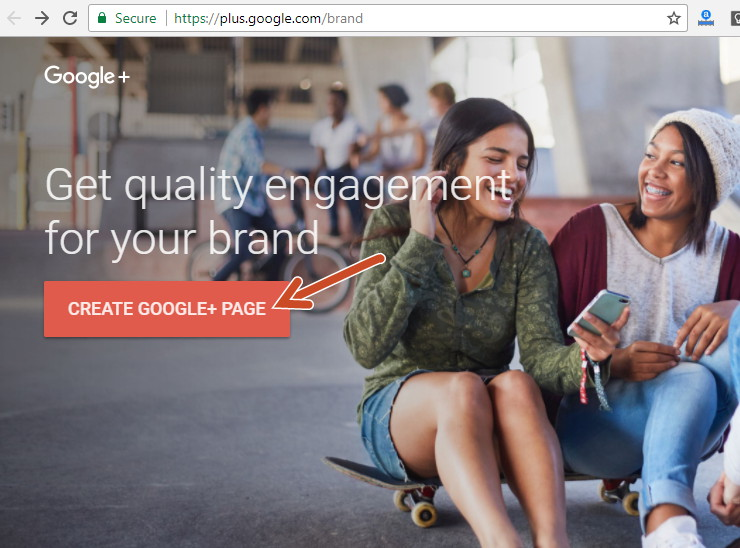 Create google plus brand page in Hindi